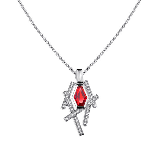 Collier AMORE ROSSO