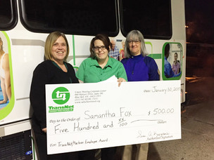 Congratulations Samantha Fox, Vehicle Aide at Norristown Transportation, for receiving $500!