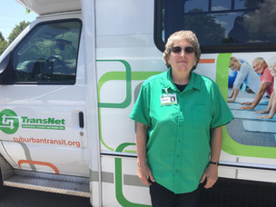 Meet the Drivers/Aides Monday: Linda Reinert, Driver at Easton Coach Co.