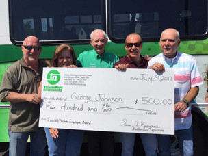 Congratulations to the Fourth Quarter Excellence Award Winner at Bux-Mont Transportation!