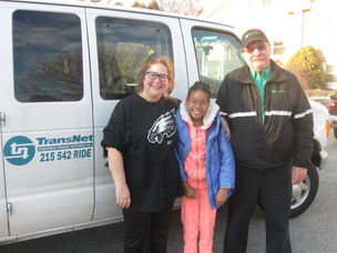 Sade's Story: 13 year old with Cerebral Palsy grateful for TransNet!