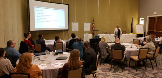 PPTA Leadership Training, December 2019