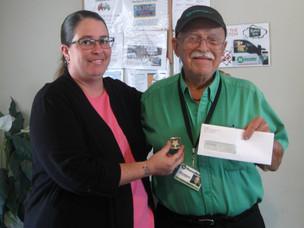 Congratulations Joseph Detwiler for Receiving the Excellence Award!
