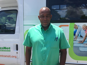 Meet the Drivers/Aides Monday: Russell Brown, Driver at Easton Coach