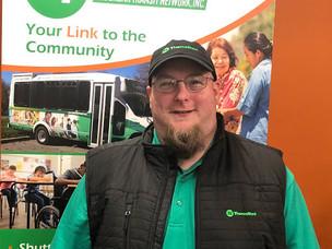 Meet the Drivers Monday:  Matt Hartzell, Driver at Valley Transit