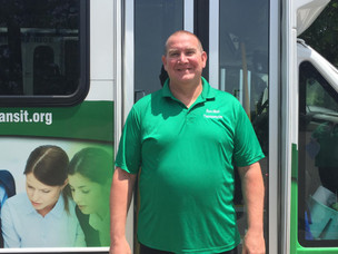 Meet the Drivers/Aides Monday: Jeffrey Cook, Driver at Bux-Mont Transportation