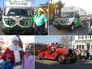 TransNet Participated in Lansdale's Mardi Gras Parade!