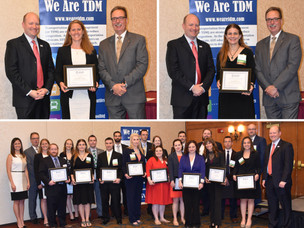 2017 Top TDM Under 40 Awards Received by Megan Krusi and Danielle Wiley