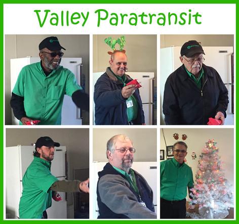 Valley Paratransit Holiday Toss