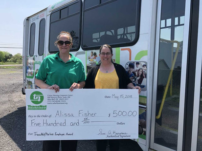 Alissa Fisher, Driver,  Valley Transit