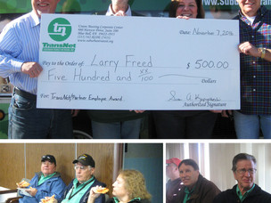 Congratulations Larry Freed for receiving the Employee Excellence Award!