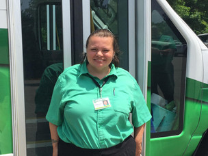 Meet the Drivers/Aides Monday: Denise Babbitt, Driver at Easton Coach