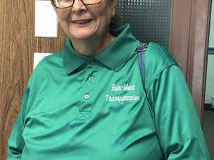 Meet the Drivers Monday:  Diane Taylor, Driver at Bux-Mont Transportation