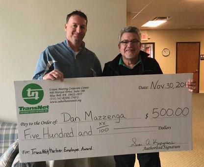 Dan Mazzenga, Driver, Tri-County Transit