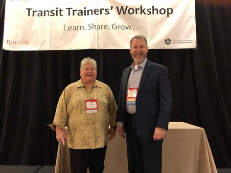 Transit Trainers' Workshop, November 2018