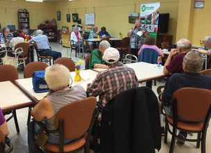 """Kick-off: """"Safety First"""" Presentations at Select Senior Centers"""