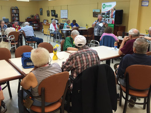 "Kick-off: ""Safety First"" Presentations at Select Senior Centers"