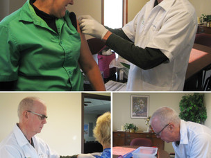Flu Shots Provided for Employees by TransNet at Tri County Transit!