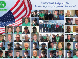 Veterans Day 2016: Thank you to our 63 Veterans for their service!
