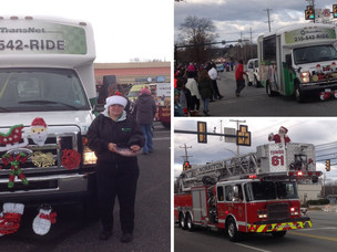 TransNet Participated in Hillcrest Plaza Merchant's East Norriton Holiday Parade!