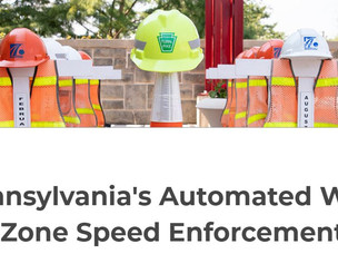 Automated Work Zone Speed Enforcement Program