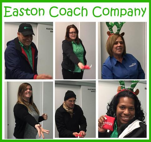 Easton Coach Holiday Toss