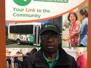 Meet the Drivers Monday:  Alvin Perry, Driver at Easton Coach Company