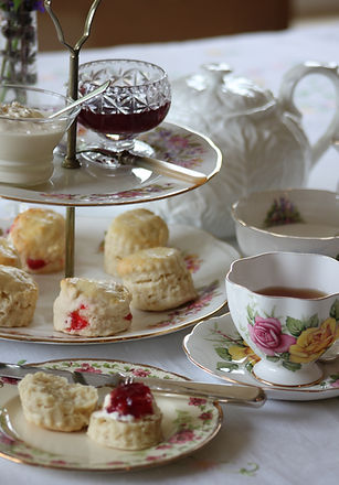 traditional cream tea with fresh oven baked scones, home made clotted cream and greaves jams make the perfect afternoon tea. all finished with Yorkshire tea or our locally roasted organic coffee
