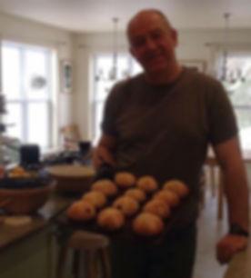 Adrian Bradbury-Bligh, baker, and owner of Birkinshaw's tea room