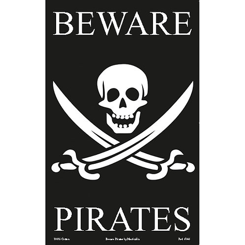 Galley Cloths - 'Beware Pirates'