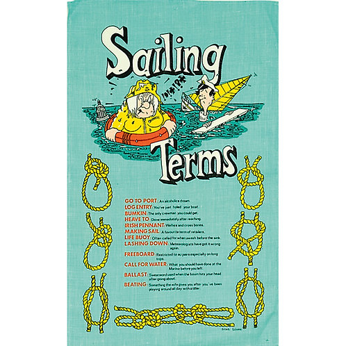 Galley Cloths - Sailing Terms