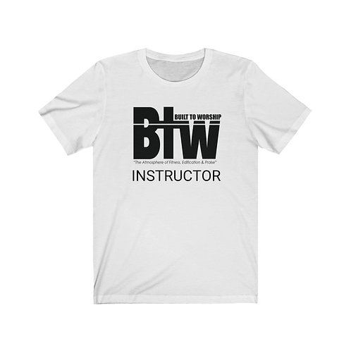 White Spring Instructor Tees