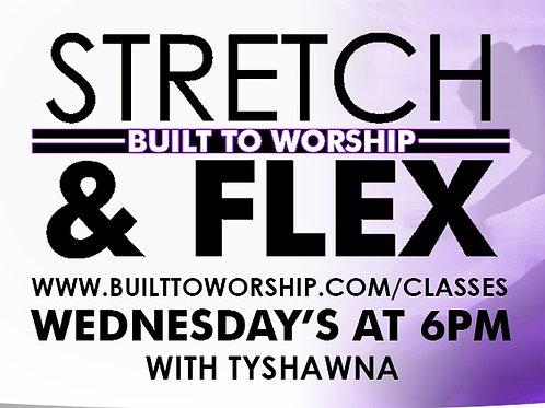 Stretch & Flex 6PM Wednesdays