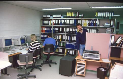 Ensimmäinen toimistomme