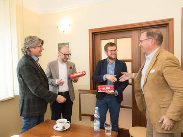 Tietotili vieraili HLB Varsovan toimistossa 3.11.2017