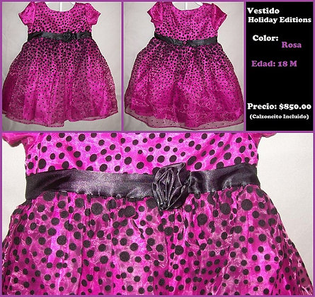 BEB13 VESTIDO HOLIDAY EDITIONS