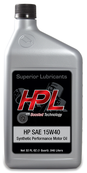 15W40 Synthetic Motor Oil Quart
