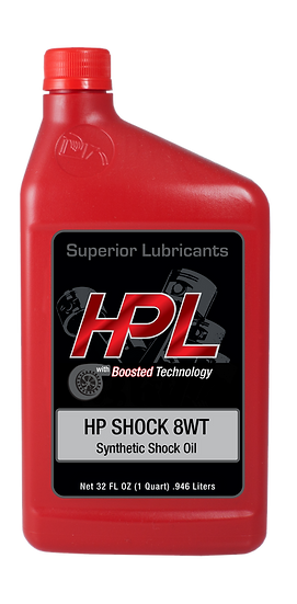 8WT Synthetic Shock Oil Quart