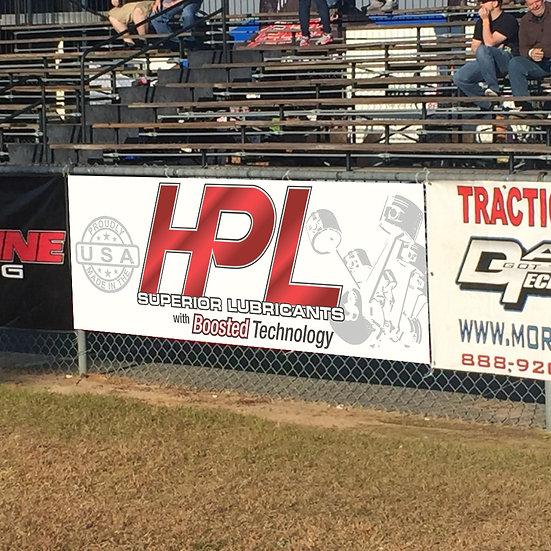 HPL Race / Garage Banner