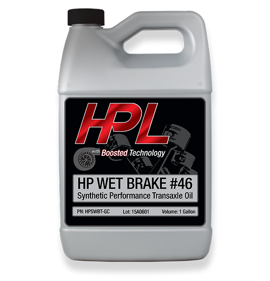 #46 Synthetic Wet Brake Transaxel Oil Gallon