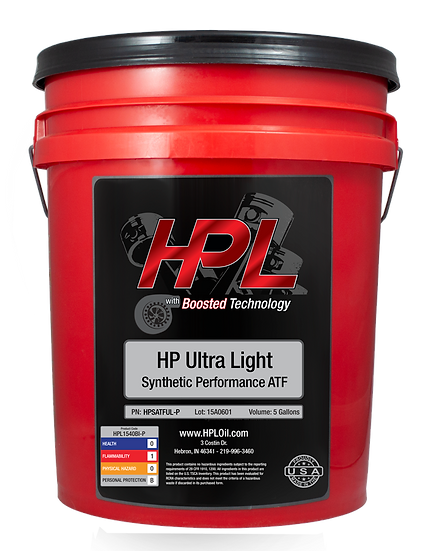 Ultra Light Synthetic ATF Pail (5 Gallons)
