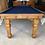 Thumbnail: Antique E J Riley Oak Convertible Dining Table 6ft x 3ft 1920's (SOLD)