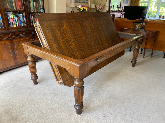 Rollover Snooker   Billiard   Pool Convertible Dining Table