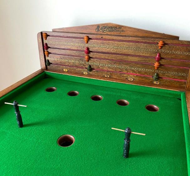 E J Riley Bar Billiard Table NUMBER 16 C