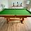Thumbnail: E J Riley Refectory Convertible Dining Table 6x3 Snooker Pool billiard (SOLD)