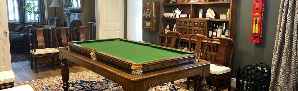 Snooker   Billiard   Pool Table   RolloverConvertibleDining Table