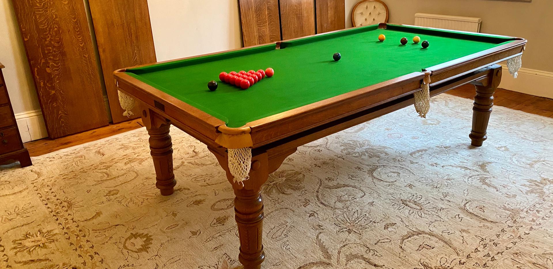 8ft E J Riley Pool   Billiard   Snooker .jpg