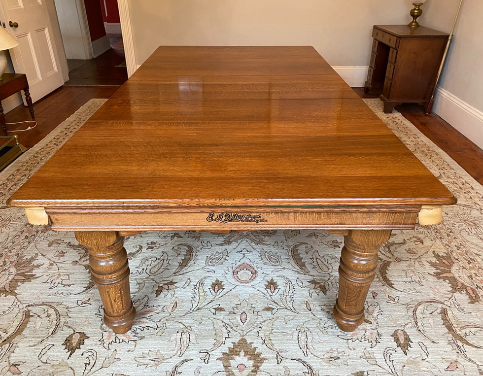 8ft E J Riley Pool | Snooker Convertible Dining Table | Click To Read