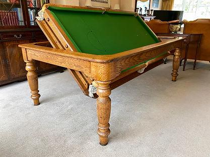 Rollover Snooker Billiard Pool Convertib