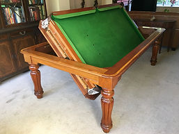 antique snooker | billiards | pool table